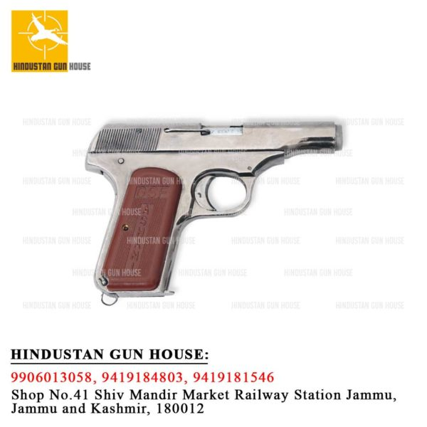 ASHANI PISTOL MADE BY GUN AND SHELL FACTORY ( INDIAN ORDNANCE FACTORY)